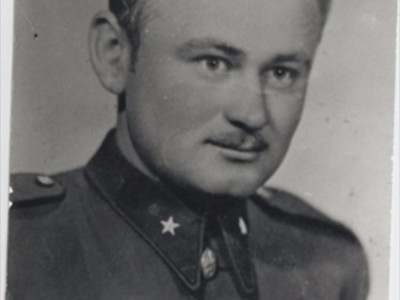 František Martinák (24 - ročný) jeden zo zavraždených.