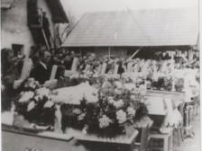 Pohreb zavraždených Ladčanov