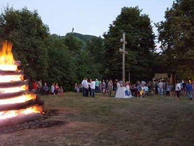 Jánsky oheň na Skalke 2017