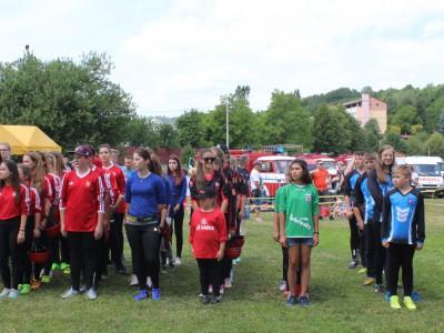 Naše hasičky na Memoriáli Ferdinanda Mončeka 2017