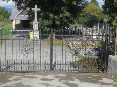 Cintorín Tunežice - nová brána 2017