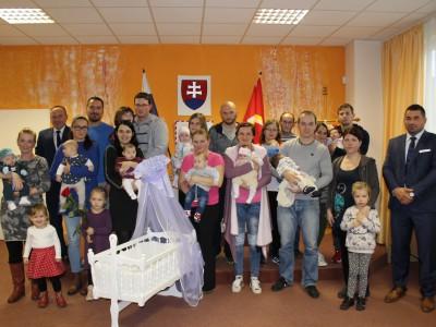 Druhé uvítanie detí do života v Ladcoch 2017