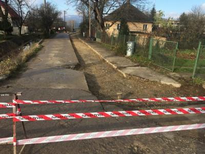 Oprava cesty – ulica Ľudovíta Štúra 2017