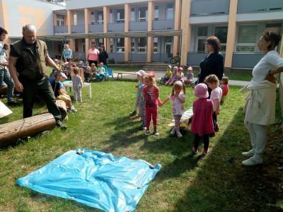 Lesná pedagogika v MŠ Ladce 2018