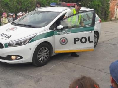 Polícia v MŠ Ladce 2018