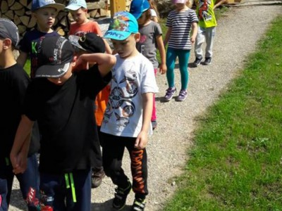 Deti z MŠ Ladce v Škole v prírode 2018