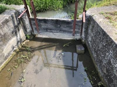 Stav vodných tokov v obci 2018