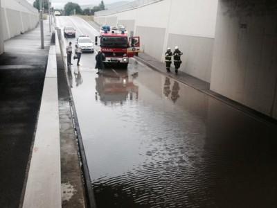 Zaplavený podchod 2015