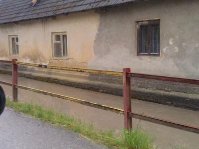 Stav potokov po dažďoch 2014