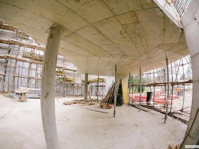 Stavba nového kostola 2014