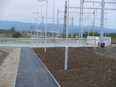 Cesta Ladce - Podhorie a podchod 2012