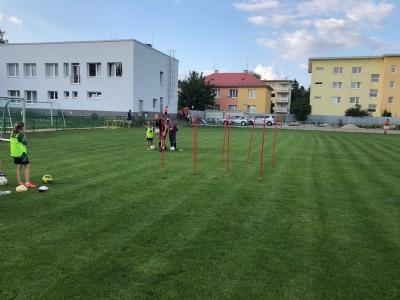 Tréning prípraviek TJ Tatran 2018