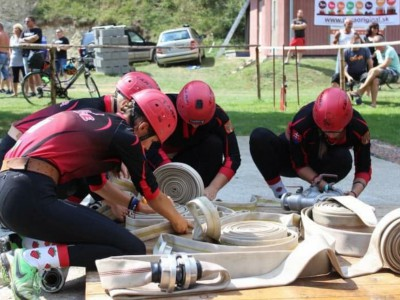 DHZ Ladce na pohárových súťažiach v Kvašove a v Hornom Lieskove 2018