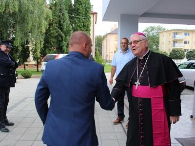 Návšteva biskupa Galisa v Ladcoch 2018