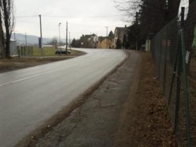 Rekonštrukcia chodníka Ladce - Tunežice 2018