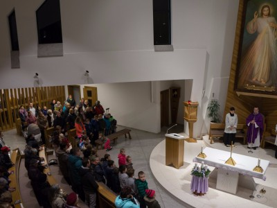 Mikuláš v kostole 2018