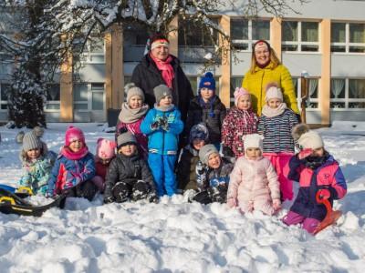 Zimná olympiáda v MŠ Ladce 2019