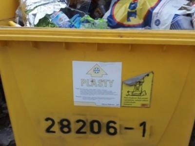 Kontrola odpadových nádob v obci 2019