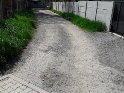 Budovanie chodníka IBV Ľ. Štúra 2019