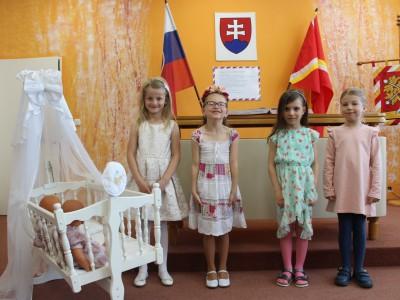 Uvítanie detí do života - máj 2019