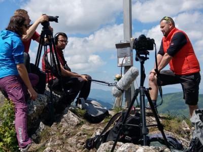 natáčanie na vrchole