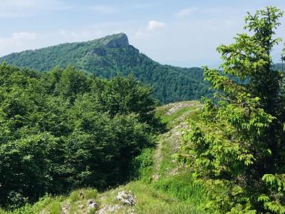 pohľad na Kľak z Ostrej skaly