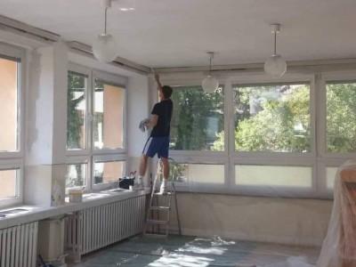 Maľovanie 3. triedy v MŠ Ladce 2019