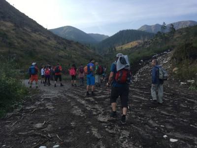 Turisti Ladeckého klubu TULAK na horách 2019