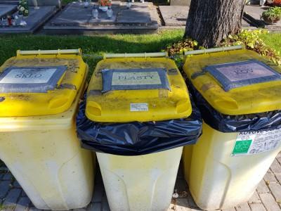 Nádoby na triedený odpad, Tunežice