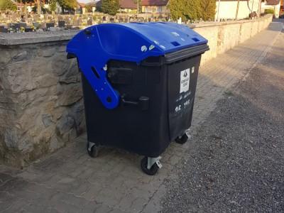 Nádoba na zmesový komunálny odpad, Ladce