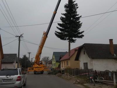 Vianočný stromček v obci 2020