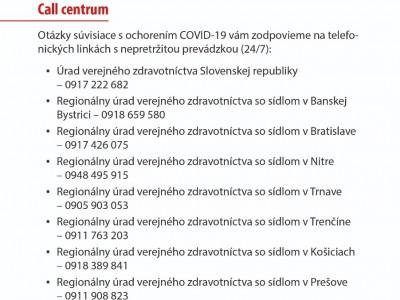 Koronavírus leták - odporúčania  02