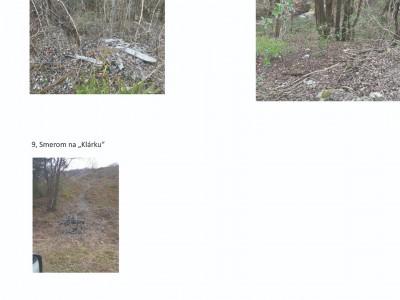 Mapa čistenia pre Horné Ladce a mapa skládok, 03