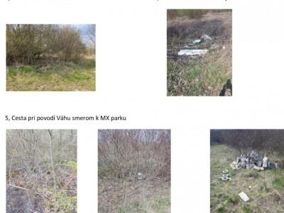 Mapa čistenia pre okolie Váhu a mapa skládok, 02