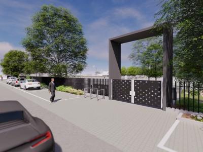 Vstupná brána od hlavnej cesty