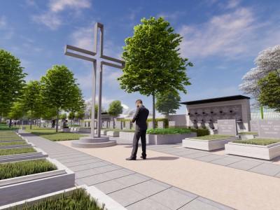 Nová časť cintorína