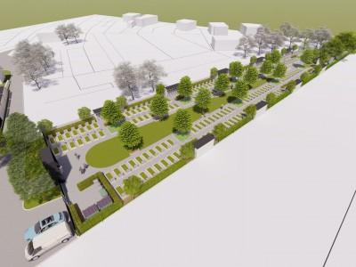 Nová časť cintorína aj s parkovaním
