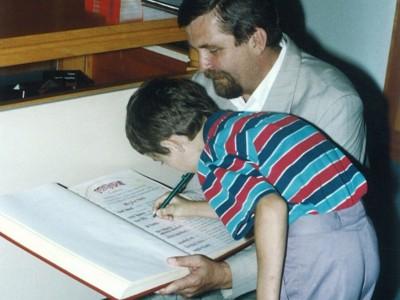 Koniec školského roka 2002