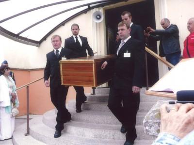 Pochovanie vojaka Škultétyho 2013