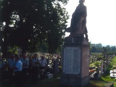Pomník - 100 rokov 1. svetová vojna 2014