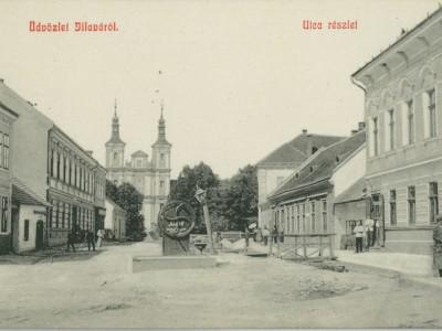 Ilava námestie 1905