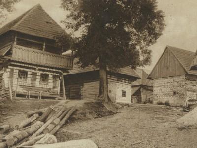 Čičmany 1936