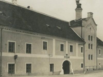 Ilava pivovar 1936